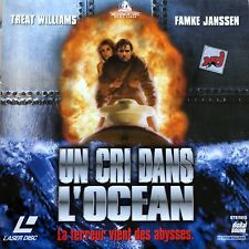 LASERDISC - CRI DANS L'OCEAN (UN) WS VF - PAL LASERDISC Treat Williams,