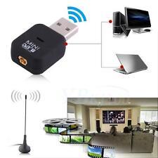 USB 2.0 TV Stick Tuner Mini DVB-T Digital Earphone Recorder with Distant Antenna