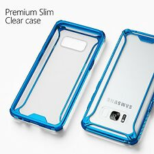POETIC【Affinity】Case For Galaxy S8 Plus Soft Shock proof TPU Bumper Case Blue