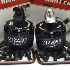 1 Pair EMAX Cooling New MT2208 II 2000KV Brushless Motor CW CCW for RC Multicop