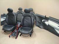 Mini Cooper R61 Sedili Pelle Sportivi Posti Gravity E1 Nero Carbonio