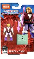 Mega Construx Masters of the Universe PRINCE ADAM Figure NIP He-Man MOTU In Hand