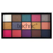 Technic Eyeshadow Palette 15 Pressed Pigment Vacay Shimmer & Matte Eye Shadow
