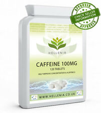 Caffeine 100mg - 120 Tablets - Focus & Energy