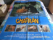 AFFICHE   HATA / LES AVENTURES DE CHATRAN / CHAT