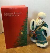 Vintage 1995 Clothtique Possible Dreams Santa w/ Puppet 10th Anniversary Figure