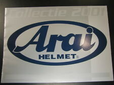 Brochure Arai helmets 2001 (Nederlands) bikes and cars