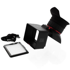 "GGS Perfect SLR 3"" LCD Foldable 3.0X Viewfinder for Canon Nikon Pentax Panasonic"