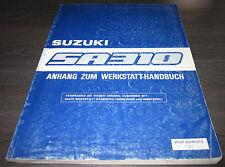 Werkstatthandbuch Suzuki Swift SA 310 Typ AA Stand Juli 1986