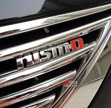 E845 Nismo 3D Kühlergrill vorn Emblem Badge car Sticker Frontgrill