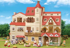 Sylvanian Families BIG HOUSE WITH RED ROOF Complete Set Bundle Calico Critters