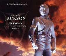 Michael Jackson History Past Present & Future Book 1 2 CD Epic