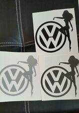 VW Adesivo Decalcomania Auto Van Paraurti Finestra Laptop EURO DUB JDM funny job lotto x33