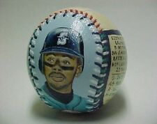 Ken Griffey Jr. Hand Painted Baseball Autographed Mariners Upper Deck 1989 PSA