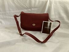 Brand New With Tag, Never Used. Vintage COACH Red Leather Purse