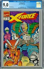 X-Force # 1 CGC 9.0 Marvel 1991 Liefeld Negative UPC