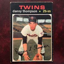 1971 O-Pee-Chee OPC Set DANNY THOMPSON #127 MINNESOTA TWINS - VG-EX