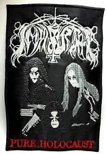IMMORTAL ( PURE HOLOCAUST )    EMBROIDERED  PATCH