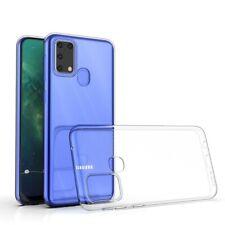 Samsung Galaxy M31 Handy Hülle Silikon Cover Schutzhülle Case transparent klar
