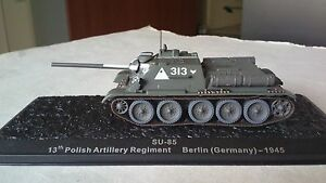 1/72 SU-85 GERMANY 1945 DEAGOSTINI ALTAYA