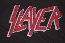 SLAYER Logo T-shirt Size XL Official 2009 OOP ORG Metallica Anthrax