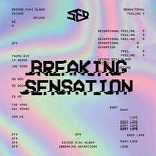 SF9 - [Breaking Sensation] 2nd Mini Album CD+Fotobuch+Fotokarte Kpop Sealed