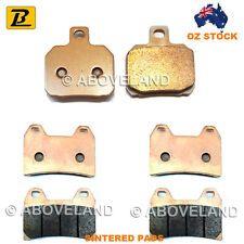 FRONT REAR Sintered Brake Pads for DUCATI 696+ Monster 2009-2010 2011 2012