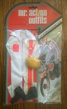 "VINTAGE 1975 MR ACTION OUTFITS 12"" G.I. JOE  BOOTS HELMET RIDING OUTFIT"
