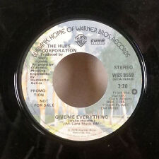 "The Hues Corporation Give Me Everything WLP Promo 45 7"" WB Soul R&B funk GD+"