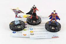 Heroclix Superman 3 LE Set Zibarro Manhunter Grandmaster Bizarro Girl