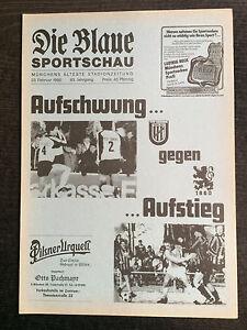 Bayernliga 85/86 TSV Eching - TSV 1860 München, 23.02.1986