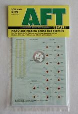 Archer 1/35 Assorted NATO and Modern Ammo Crate Stencils [Decal] AR77010