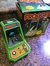 Frogger Vintage Tabletop Arcade Game Coleco all Paperwork Works perfectly