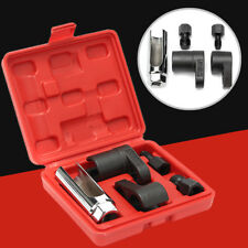 5PCS Oxygen Sensor Socket Tool O2 Thread Chaser Wrench Vacuum Repair Kit M12 M18