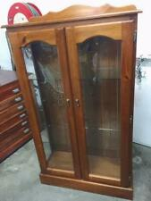 F40007 Timber China Display Cabinet Cupboard