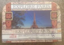 Explore Paris Jigsaw Puzzle 1000 Pieces In Carry Case - SEALED GIFT XMAS