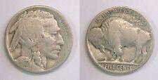 1927 P Buffalo Nickel Very Good VG