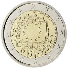 Finland / Finnland - 2 Euro The 30th anniversary of the EU flag