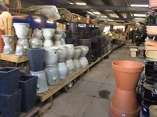 Garden Pots, Terracotta, Glazed, Plastic. Great Quality Great Prices