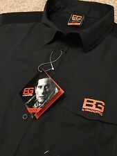 BNWT BEAR GRYLLS CRAGHOPPERS BEAR CORE BLACK WICKING HIKING SHIRT XXL 2XL