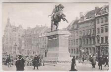 Denmark postcard - Kobenhavn, Absalons Statue