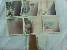 Lot of 7 Unusual Vintage Photos Finger Bomb Mistakes 779