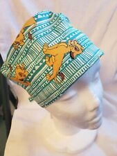 Lion King Simba Handmade Surgical Scrub Caps