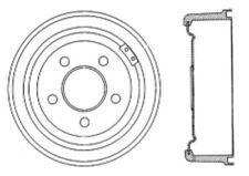 Brake Drum Front Centric 123.63012 fits 82-83 Jeep Dj5(Fits: Hornet)