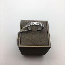 ANELLO VERETTA RECARLO, donna, oro 18 kt diamanti ct 0,64 colore G purezza VVS2