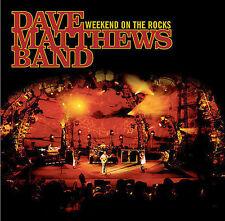 Dave Matthews Band Weekend on the Rocks 2 CD + DVD box set New Sealed