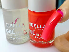Smalto Gel Fluo Arancio + Top Coat Semipermanente No Fornetto uv Moda Nail Art