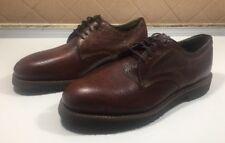 455)Knapp Oxfords Shoes Lace Up Brown Men Sz 8.5 D**MUC**