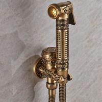 Copper Handheld Sprayer Cleaning Bidet Urinal Bathroom Shower Bathtub Faucets