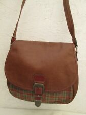 TEXIER sac à main besace vintage en cuir bag à saisir - r11/7-20